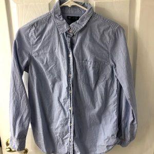 Pin Stripe Button Shirt